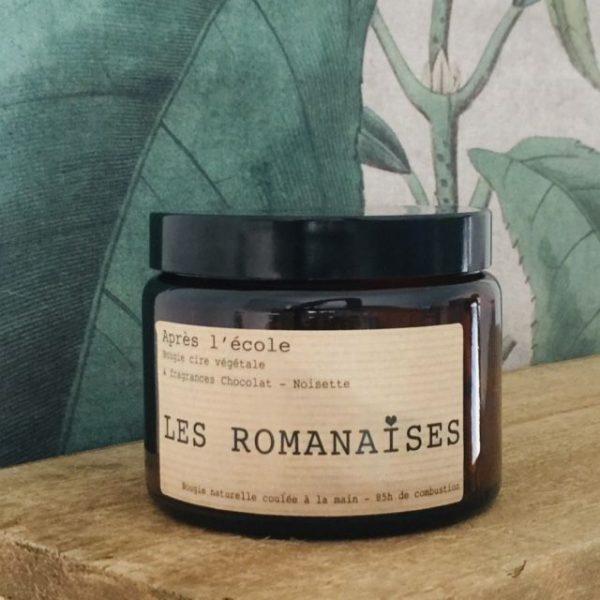 Bougie parfumé - Les Romanaises